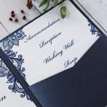 Noble Elegance Wedding Invite
