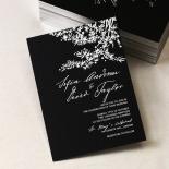 Oriental Romance Invite Card