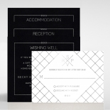 Quilted Grace Wedding Invite Card