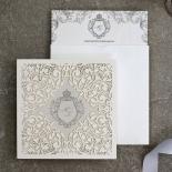 Regally Romantic Invite Card