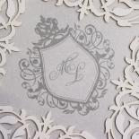 Regally Romantic Wedding Card