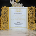 Royal Lace Wedding Card Design