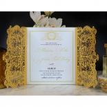 Royal Lace Invite Card Design