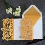 Royal Lace Wedding Invitation