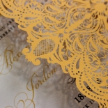 Royal Lace Wedding Invite