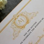 Royal Lace Wedding Invite Design