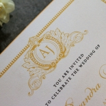Royal Lace Invitation Card