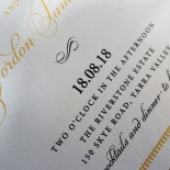 Royal Lace Wedding Invitation Card