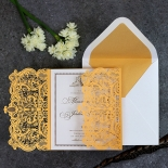 Royal Lace with Foil Card Design