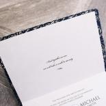 Royal Prestige Wedding Invite Card