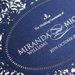 Royal Prestige Wedding Invitation Card