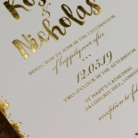 Rusted Charm Wedding Card Design