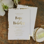 Rusted Charm Wedding Invite Design