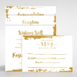 Rusted Charm Invitation
