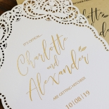 Rustic Elegance Invite Card Design