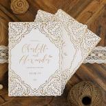 Rustic Elegance Invite Card