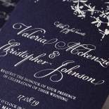 Secret Garden Wedding Invitation Design