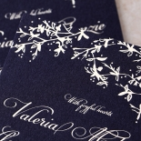 Secret Garden Wedding Invitation Card Design