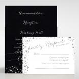 Star Dust Invitation Card