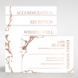 Stonework Wedding Card Design