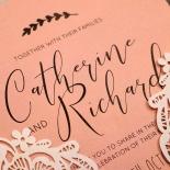 Sweet Romance Invite Card