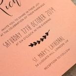 Sweet Romance Invitation Card