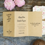 Sweetly Rustic Wedding Invite
