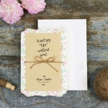 Sweetly Rustic Invitation