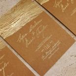 Timber Imprint Card Design