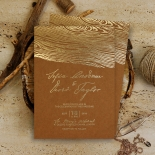 Timber Imprint Invite