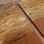 Timber Imprint Wedding Card