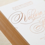 Timeless Romance Wedding Invite Design