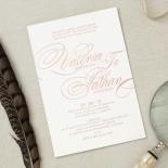 Timeless Romance Invitation Card Design