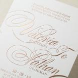 Timeless Romance Wedding Invitation Card Design