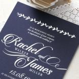 Unbroken Romance Invite Design