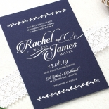 Unbroken Romance Wedding Card Design