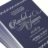 Unbroken Romance Wedding Invitation
