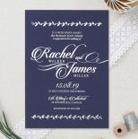 Unbroken Romance Wedding Invite Card Design