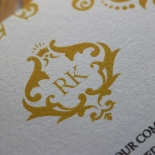 Victorian Extravagance Wedding Invite Card