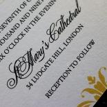 Victorian Extravagance Invite Card Design