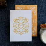 Victorian Extravagance Wedding Invite Card Design