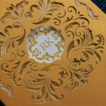 Victorian Extravagance Wedding Invite Design