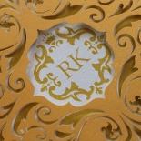 Victorian Extravagance Invitation Card Design