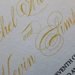 Victorian Extravagance Wedding Invitation Card