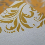 Victorian Extravagance Wedding Card
