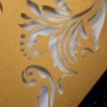Victorian Extravagance Wedding Invitation Card Design