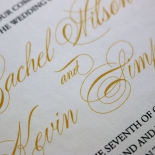 Victorian Extravagance with Foil Invite Card Design