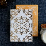 Victorian Extravagance with Foil Wedding Invitation