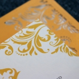 Victorian Extravagance with Foil Invite Card