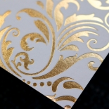 Victorian Extravagance with Foil Invite